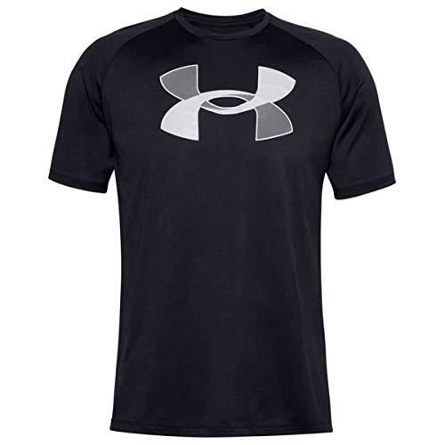 Under Armour Herren Bequemes Und Weiches T-Shirt Für Männer, Black / / Halo Gray (001), XXL, 1357234-001