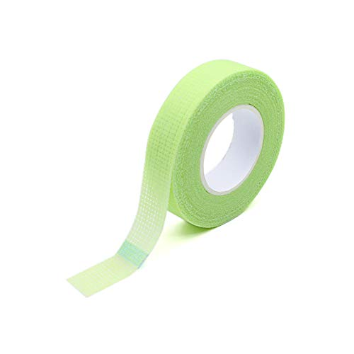 GUOJIAYI 10pcs Eyelash Isolation with Hole Breathable and Comfortable Green Eye Pad