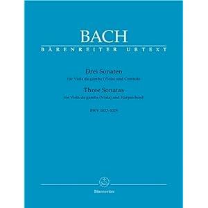 3 Sonaten. Viola Da Gamba, Viola, Cembalo