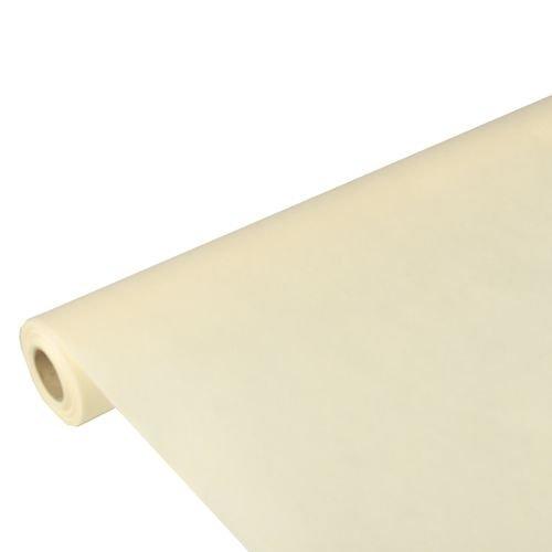 Papstar Tischdecke / Tischtuchrolle creme