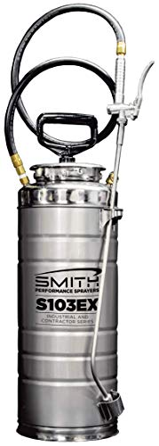Smith Performance Sprayers 190468 S103EX Stainless Steel Concrete Sprayer