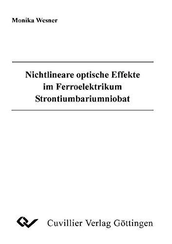 Nichtlineare optische Effekte im Ferroelektrikum Strontiumbariumniobat