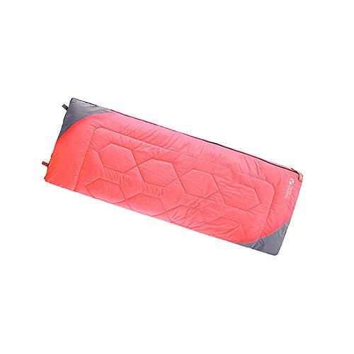 CATRP Durable Respirant Sacs De Couchage Poids Léger Sac De Sommeil Chaud Matelas Confortable Camping Randonnée, 190 X 75cm (Color : Red, Size : 190X75cm)