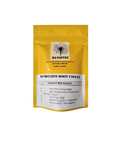 Dandelion Root coffee Ground Medium Roast Caffeine Free