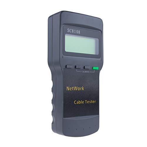 Youool Kabeltester, SC8108 RJ45-Netzwerk LAN-Länge Telefonkabel-Positionsprüfgerät, für Kabelmessgerät