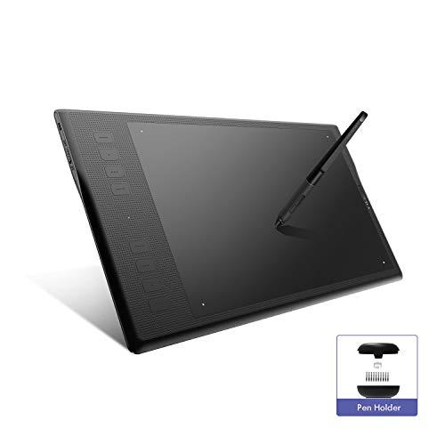 HUION INSPIROY Q11K V2 Tablette Graphique sans Fil amélioré avec Stylo sans Pile de 8192 Niveaux, et Fonction d'inclinaison 266PPS