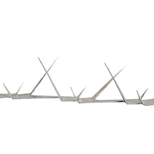 Wall Spikes - Mauerspitzen - Zaun Übersteigschutz - Stahl verzinkt - L: 1250 mm - 1,25 m