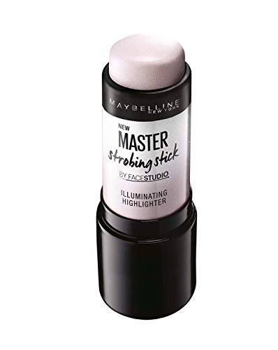 Maybelline New York Master Strobing Stick Illuminante in Stick, Texture Cremosa e Leggera, 100 Light Iridescent