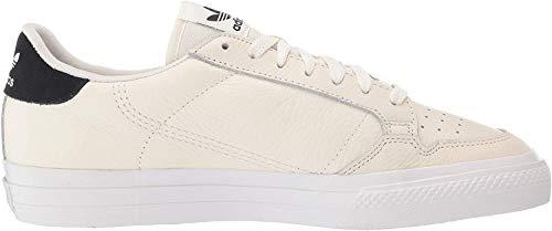 adidas Originals Continental Vulc tenis, Blanco (Off White/Off White/Core Black), 46 EU