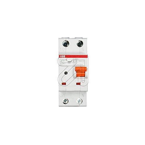 ABB Stotz S&J Brandschutzschalter S-ARC1 B16 B16,6kA,1P+N Leitungsschutzschalter mit Zusatzeinrichtung 8012542178033