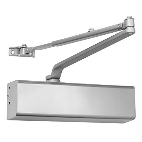 Heavy Duty Grade 1 Cast Aluminum Commercial Door Closer, for high-Traffic entrances/doorways/Aluminum storefronts (1, Aluminum (AL)), by Lawrence Hardware LH816