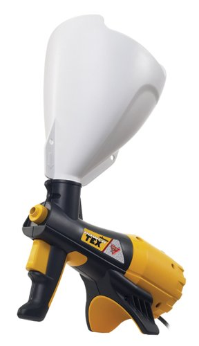 Wagner Spraytech 0520000 Power Tex Electric Corded Texture Paint Sprayer, 120 Vac, 15 A, 0.2 Gpm, 2 Psi, Yellow
