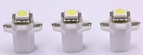 3x warmweiße Power B8.3D SMD-LED Tachobeleuchtung Umbauset Plug and Play.