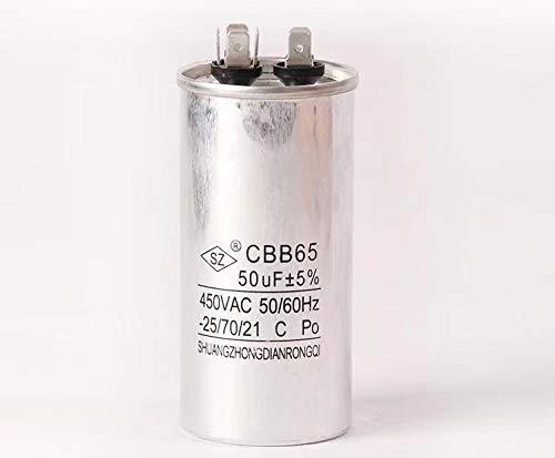 CBB65 Metallized Polypropylene Film Non Polar Motor Capacitor 50uF AC450V CBB65A