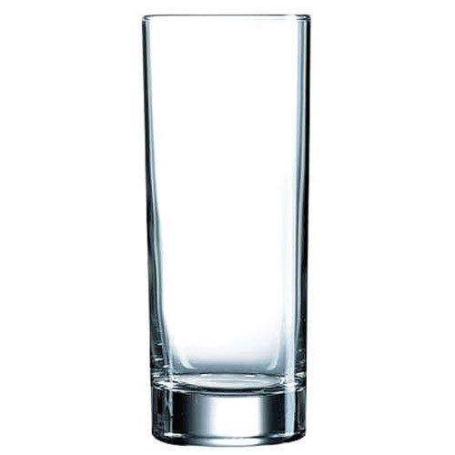 Luminarc 8808266 Islande - Juego de 6 vasos altos, transparente, 33 cl