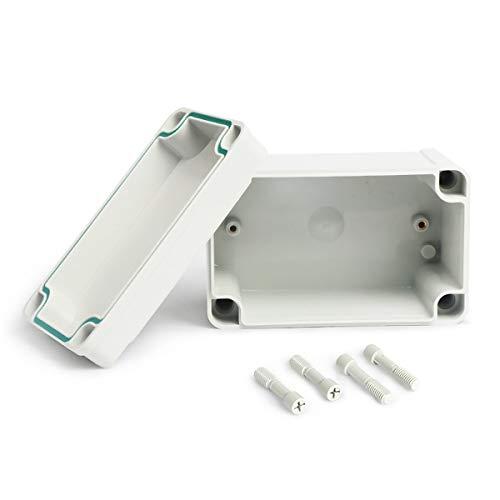 Greatangle-UK wasserdichte Kunststoffgehäusebox Elektronisches Projekt Instrumentenkoffer Elektrische Projektbox Gehäuse der Außenanschlussdose