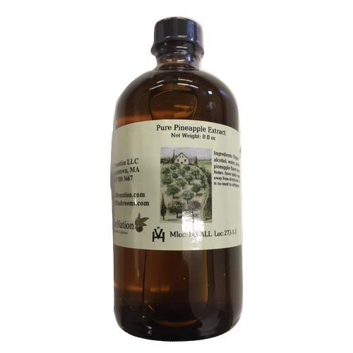 OliveNation Pure Pineapple Extract, 8 Ounce