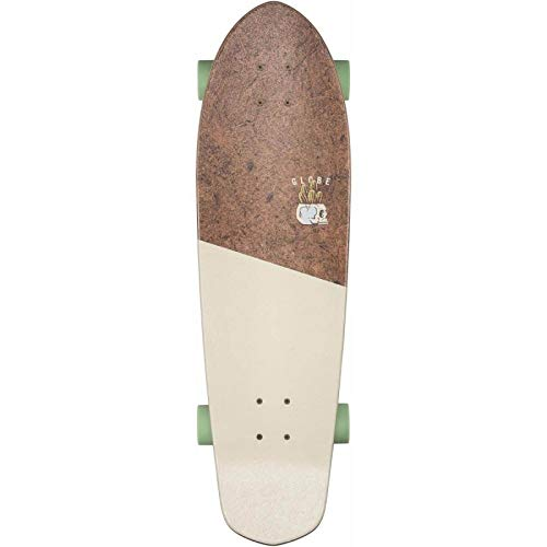 "Globe Big Blazer Skateboard, Adultos Unisex, Multicolor (Coconut/Palm), 32"""