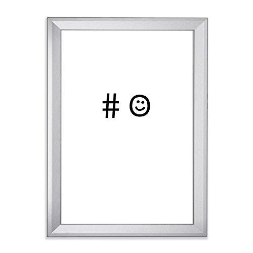 #lachsmiley als Kunstdruck 30x40cm mit Bilderrahmen (