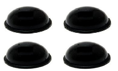SMALL ADHESIVE RUBBER STICK-ON FEET NON-SLIP 8mm DIAMETER 2.2mm THICKNESS SINGLE