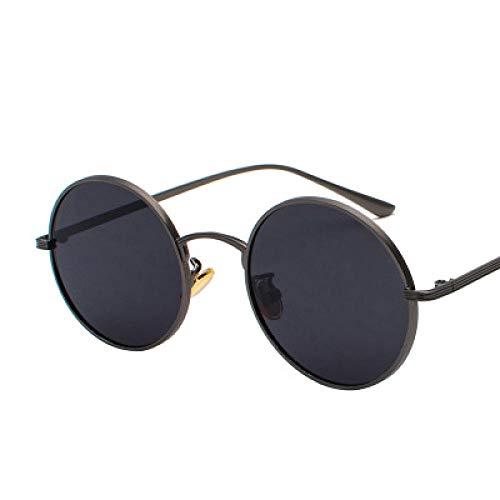 IRCATH Gafas de Sol Unisex Punk Sunglass Metálicos clásicos Estilo de Marco reflejado Ronda Adecuada para Caminar y gasitaria Junto al mar-Seducir Adecuado para Conducir en la Playa Se Puede Utilizar