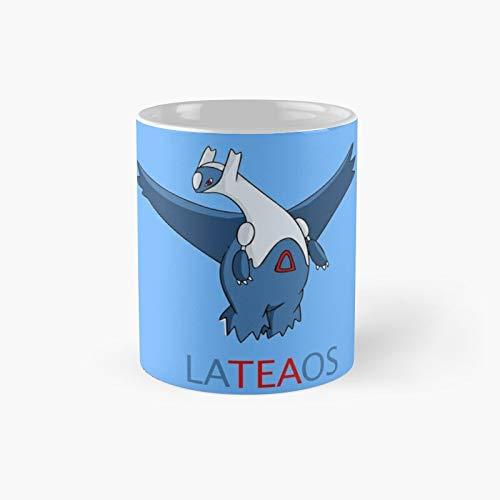 Taza de té Lateaos Latios clásica | El mejor regalo divertidas tazas de café de 11 oz