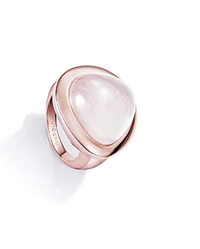 Viceroy Jewels 3013A014-49 Anillo Mujer Plata Rosé Cuarzo Talla 14