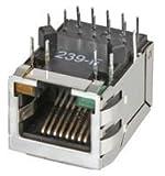 STEWART CONNECTOR SI-61001-F RJ45 MODULAR, JACK, 8POS, 1PORT