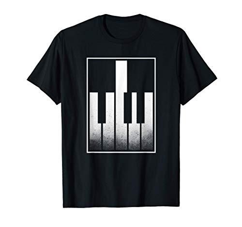 Dedo medio Piano Pianista Teclado Reproductor Cheeky Regalo Camiseta