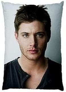 NEW HOT Jensen Ackles Supernatural Zippered Rectangle Pillow Cases 20