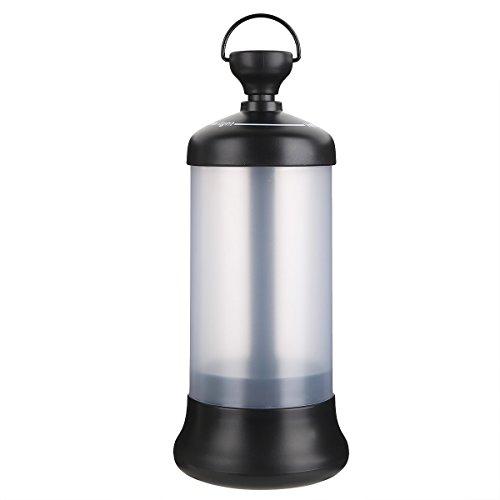 Freebily Lampe Lumière de Camping Véhicule LED 1200mAh Rechargeable Battery Port USB Portable Lampe d'exterieur Torche Voyage Pêche Randonnée Urgence Noir Taille Unique