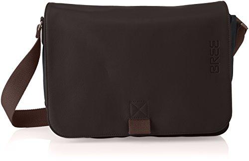 BREE Unisex-Erwachsene PNCH Casual 62 Shoulder Bag Schultertasche, Grau (Anthra.), 8x24x34 cm