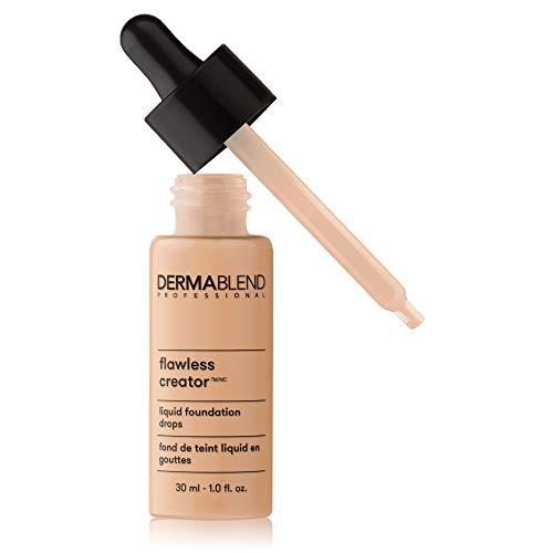 Dermablend Flawless Creator Multi-Use Liquid Foundation Makeup, Full Coverage Foundation, 25N, 1 Fl oz