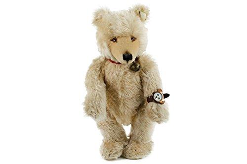 Steiff Teddybär, Watch, 45 cm, creme, mit Teddyarmbanduhr, limitiert