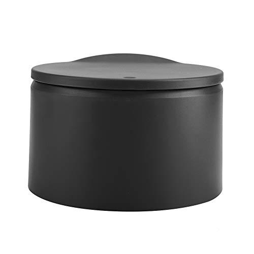 Saws Mini Layers Double Destop Trashbin Basura Can Home Office Baño Negro 0321