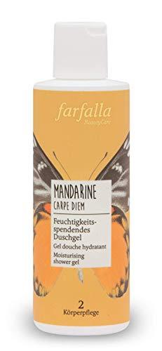 farfalla Mandarine Carpe Diem, Feuchtigkeitsspendendes Duschgel, 200 ml