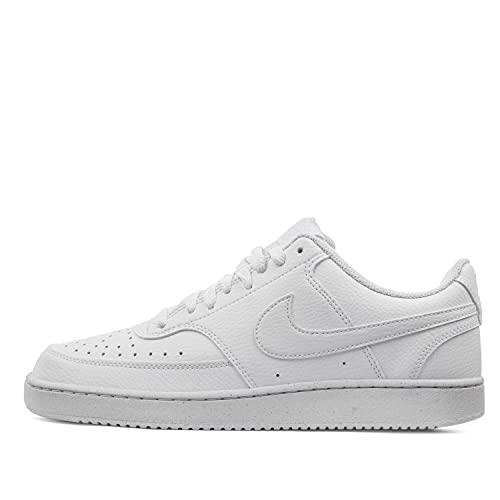 Nike Court Vision Lo Be, Zapatillas para Caminar Hombre, White White-White, 39 EU