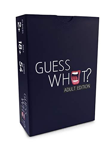 Guess What – Hilarious Adult Card Game for Parties & Game Nights– Contains 54 Cards Full of Wild & Savage Challenges – Ideal for 3+ players