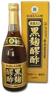 ヘリオス 黒麹醪酢 黒糖入り 720ml 24本(2ケース)