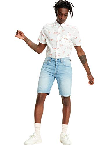 Levi's 501 Hemmed Denim Shorts, Bratwurst LTWT Short, 29 para Hombre