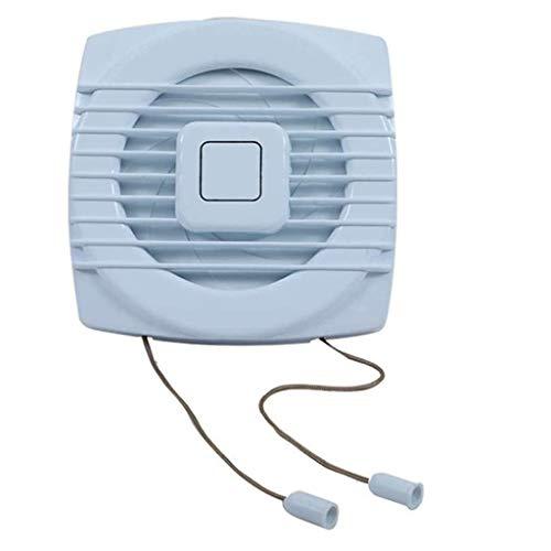 YGB Ventilador de Escritorio, Extractor de Cable, para Sala de Estar, Dormitorio, Oficina, Ventilador de ventilación, ático, cobertizo o Garaje