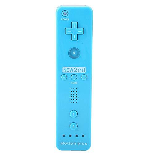 VBESTLIFE Manette de Jeu, Manette de Jeu Accélérateur intégré Joypad pour Nintendo Wii/WiiU (Bleu)