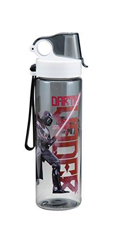 Vandor 99575 - Borraccia sportiva di Darth Vader, personaggio della saga di Star Wars, realizzata in co-poliestere Tritan, 68,2 cl