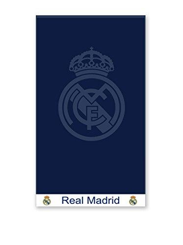Secaneta Toalla Playa Real Madrid Jaquard Marino