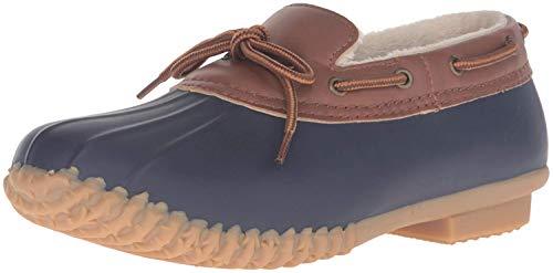 JBU by Jambu Women's Gwen Rain Shoe, Navy, 6.5 M US