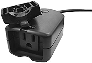 Vivitar Ha-1011 Outdoor Wi-Fi Outlet with Timers, Waterproof Outdoor Smart Plug 10Amp 3 Prong Outlet Built-in WiFi Set Multiple Timers Daylight Saving Time Controls On Smartphone, Black