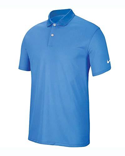 NIKE BV0356-412 Polo Shirt, University Blue/White, S Mens