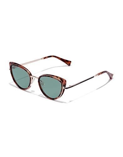 HAWKERS Feline Gafas de sol, CAREY/VERDE BOTELLA, One Size para Mujer