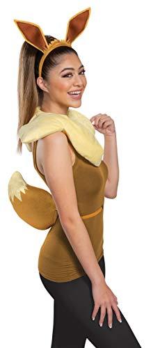 Disguise Damen Eevee Adult Costume Kit Kostümset, braun, Einheitsgröße