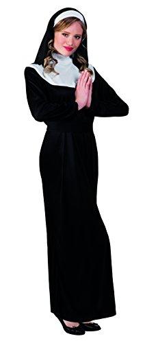 Boland 83816 – Costume Adulte Nonne, Noir